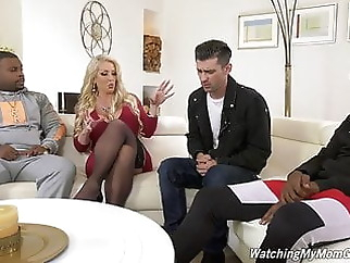 Alura Jenson fucks BBC in front of Stepson xxxbucker anal