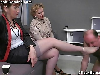 Ms Eva - Under the feet of the Ladies xxxbucker mature