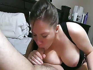 She made me Cum twice, 1st with blowjob then rimjob and milking xxxbucker blowjob
