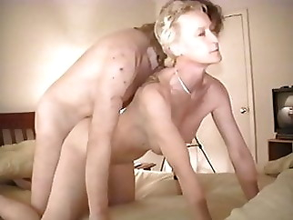 Judy Altman taking Big White Cock Bareback while cuckold films, part 4 xxxbucker hardcore