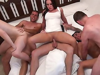 Summer Bedtime Group Fuck xxxbucker amateur